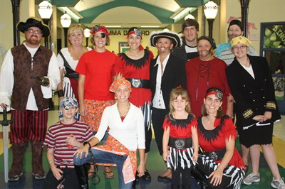 Pirate Family Night 2010