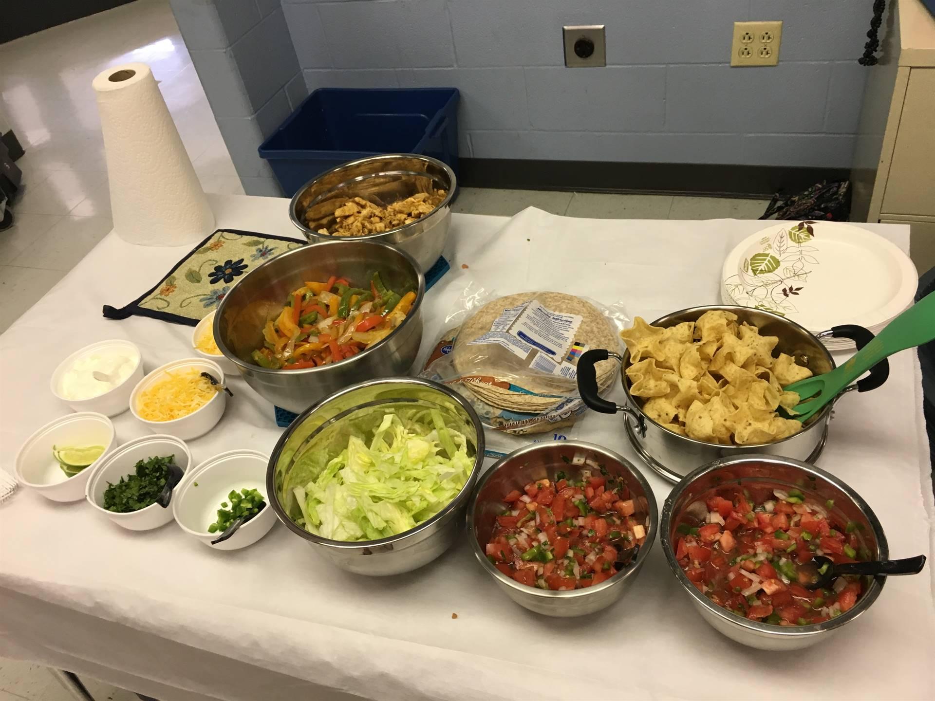 Rookie Cooking Camp Day 1-Fajita's & Salsa